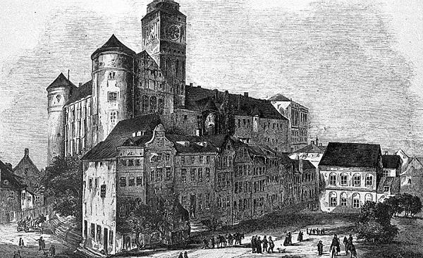 Кенигсберг — штаб всех военных действий тевтонцев.